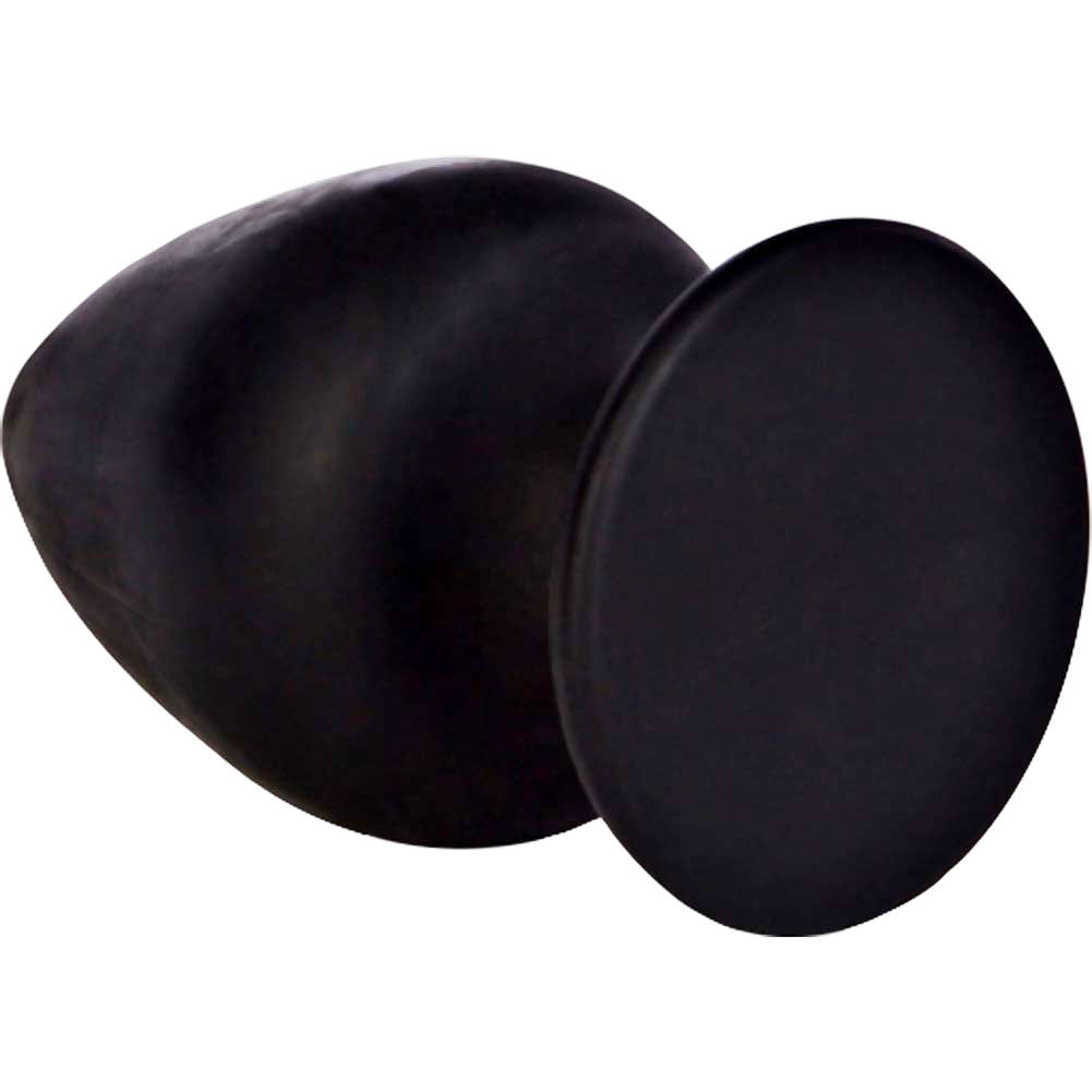 "California Exotics COLT Big Boy Silicone Butt Plug 3.25"" Black - View #3"