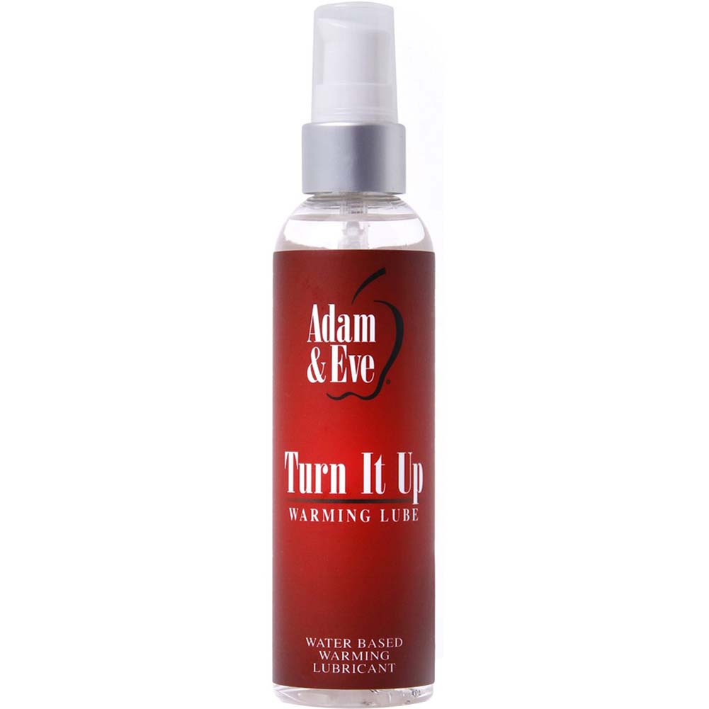 Adam and Eve Turn It Up Warming Lube 4 Fl.Oz 120 mL Spray - View #1