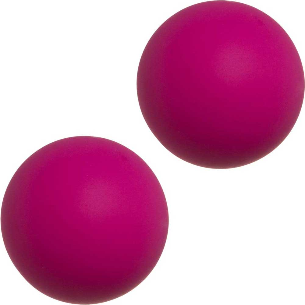 Mood Steamy Silicone Ben Wa Balls Pink - View #2