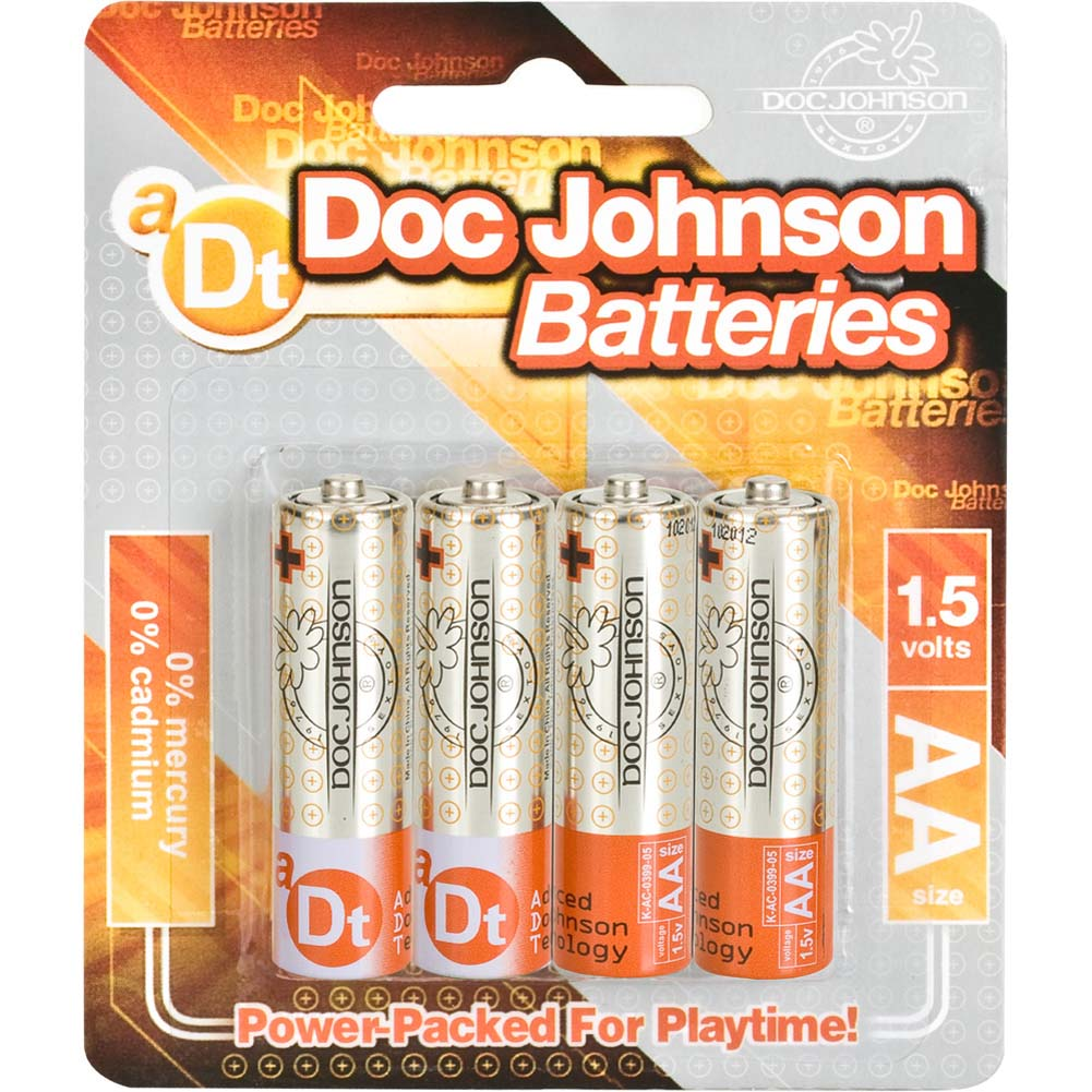 Doc Johnson AA Batteries 4 Pack - View #1