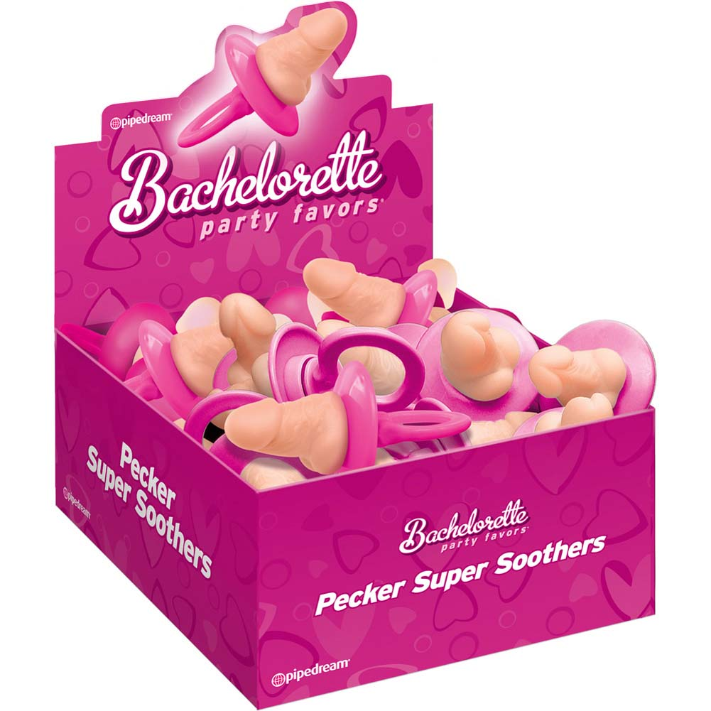 Bachelorette Party Favors Dicky Super Soothers 24 Piece Display Box - View #2