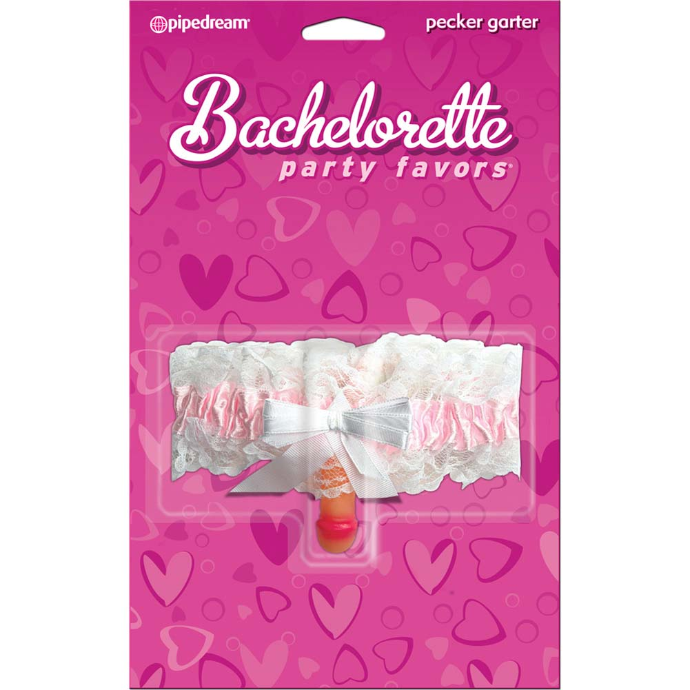 Bachelorette Party Favors Pecker Garter - View #1