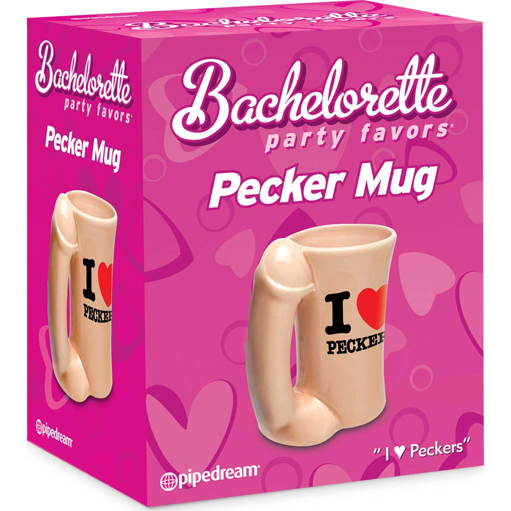 Bachelorette Party Favors Pecker Mug - View #1