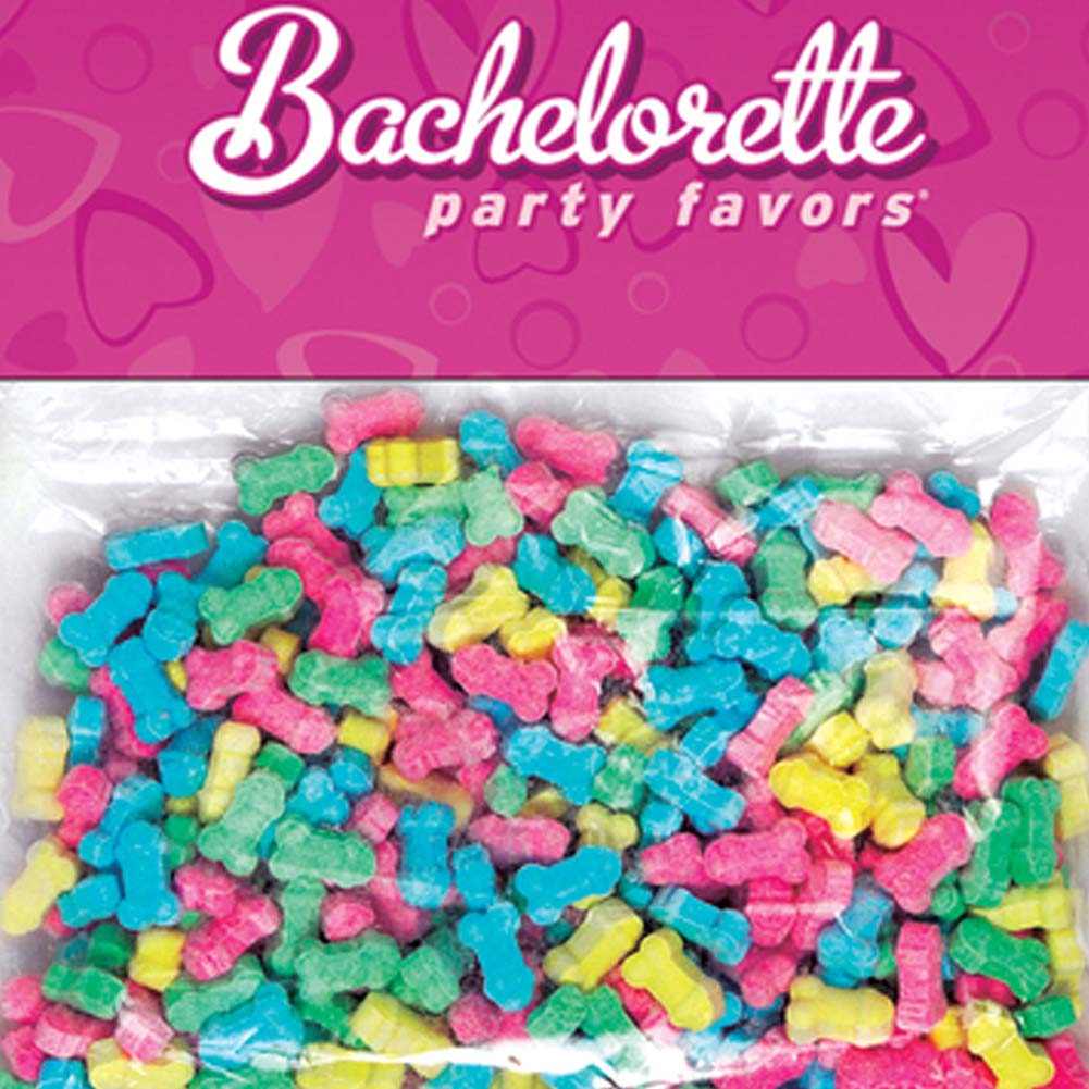 Bachelorette Party Favors Pecker Candy Sprinkles Assorted Colors - View #2