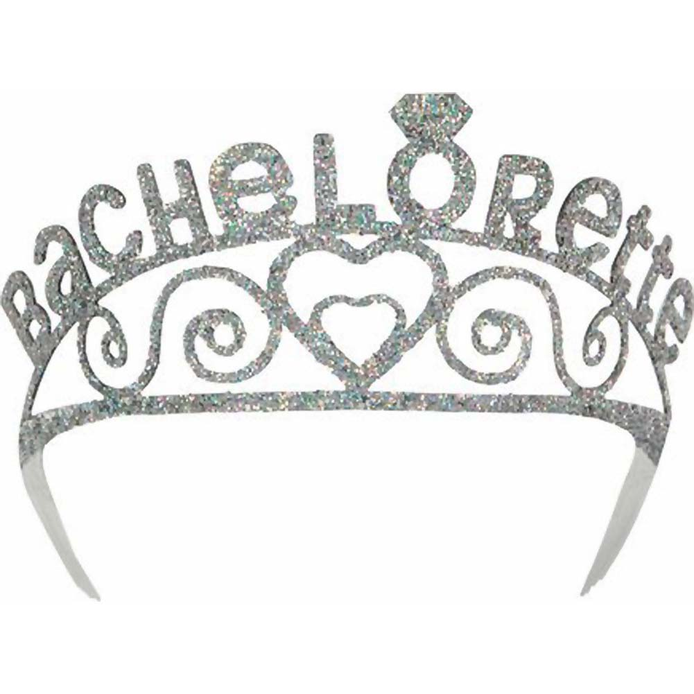 Bachelorette Party Sparkle Tiara/Veil - View #2