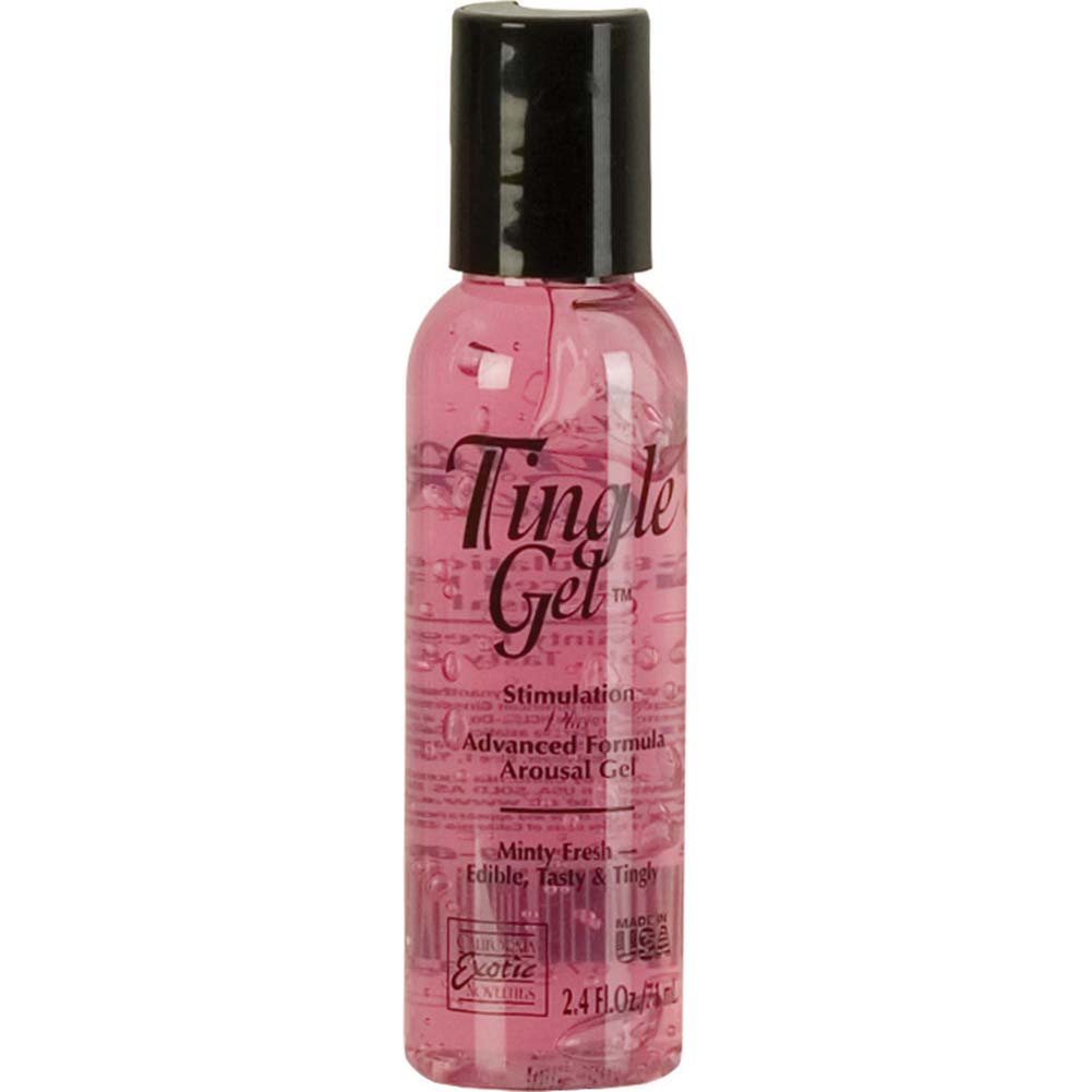 California Exotics Stimulation Plus Sensual Tingle Gel for Women 2.4 Fl. Oz. - View #1