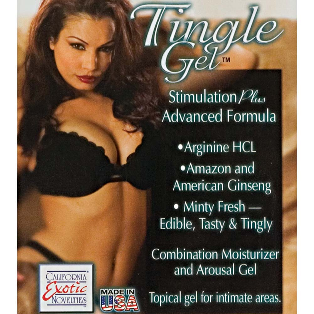 California Exotics Stimulation Plus Sensual Tingle Gel for Women 2.4 Fl. Oz. - View #3