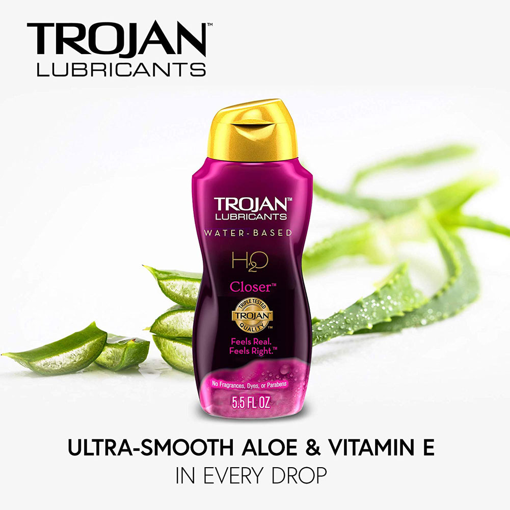 Trojan Lubricants H2O Closer Lubricant 5.5 Fl. Oz. - View #1