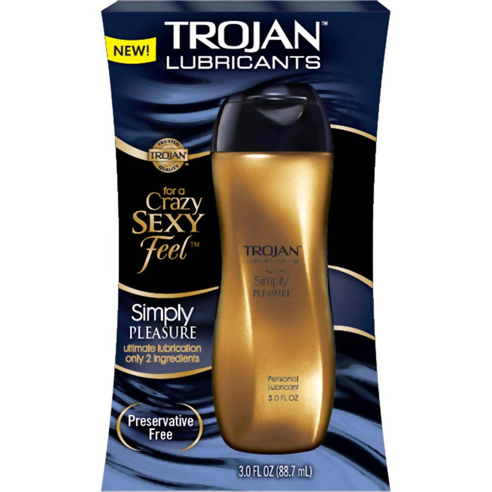 Trojan Lubricants Simply Pleasure Lubricant 3 Fl. Oz. - View #1