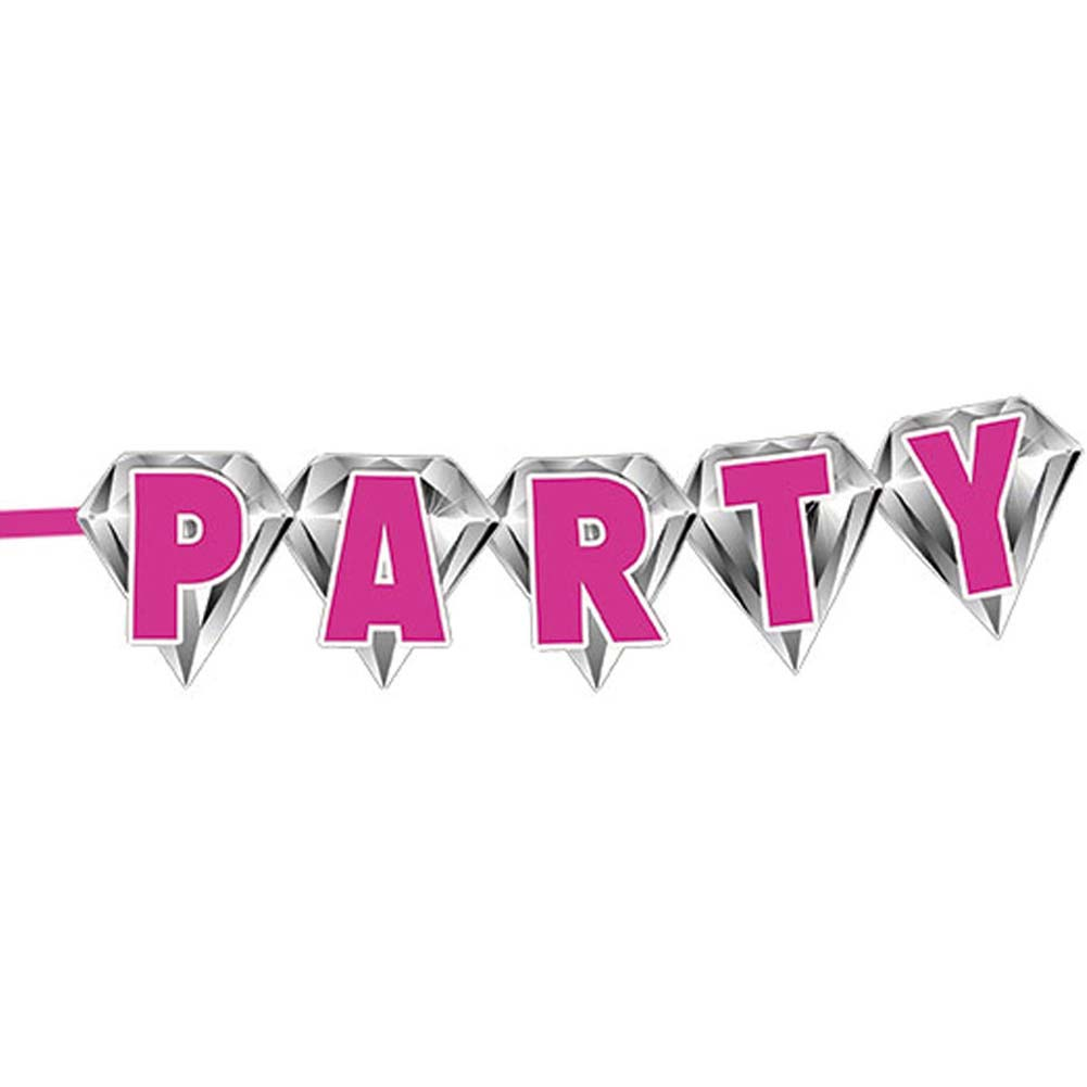 Bachelorette Party Diamond Banner - View #2