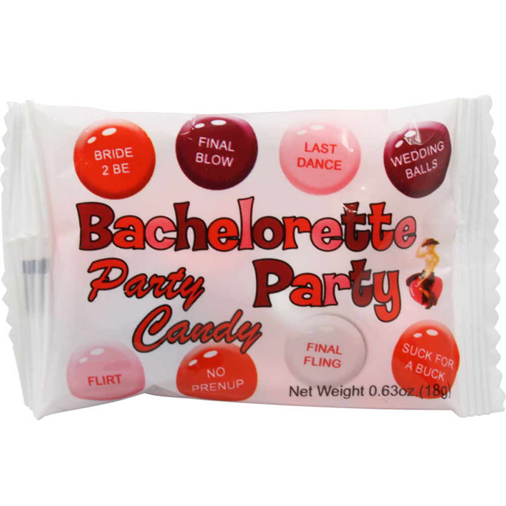 Bachelorette Party Candy Bag Display Box of 50 Bags - View #1