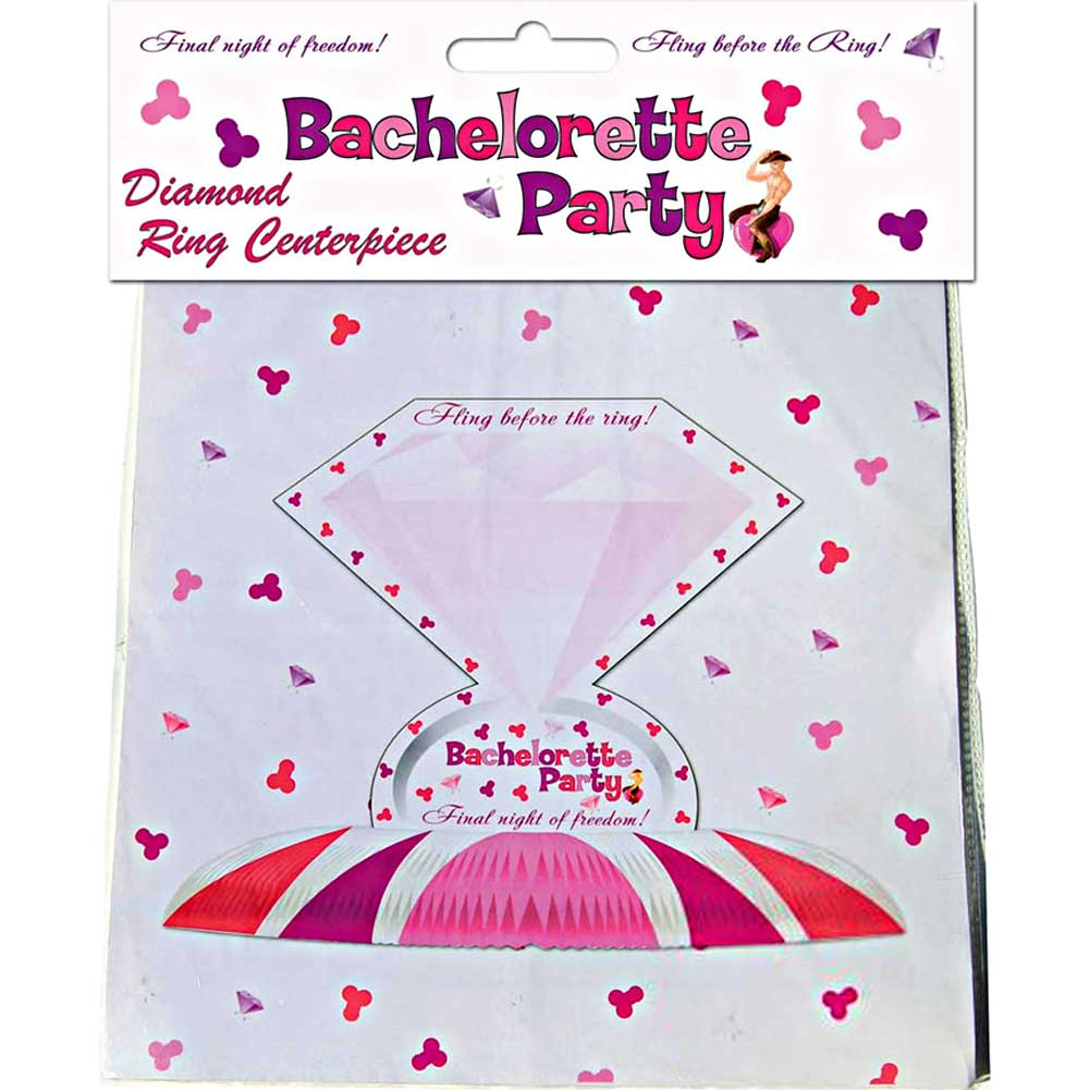 Bachelorette Party Diamond Ring Centerpiece - View #1