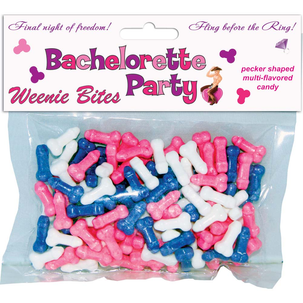 Bachelorette Party Weenie Bites Candy - View #1