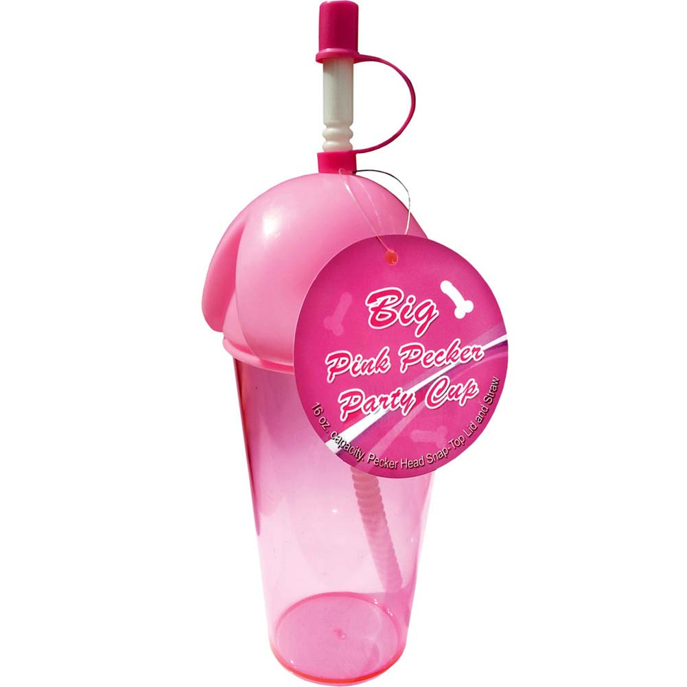 Big Pink Pecker Party Cup - View #2