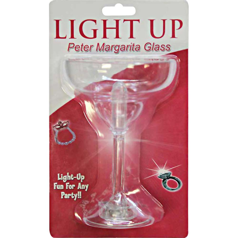 Light Up Peter Margarita Glass - View #1