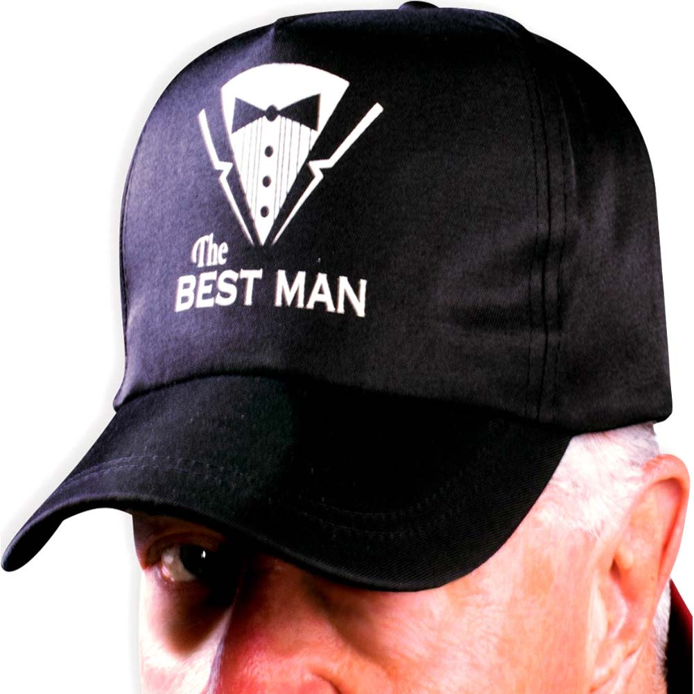 Bachelor Bachelorette Party Hat - Best Man - View #1