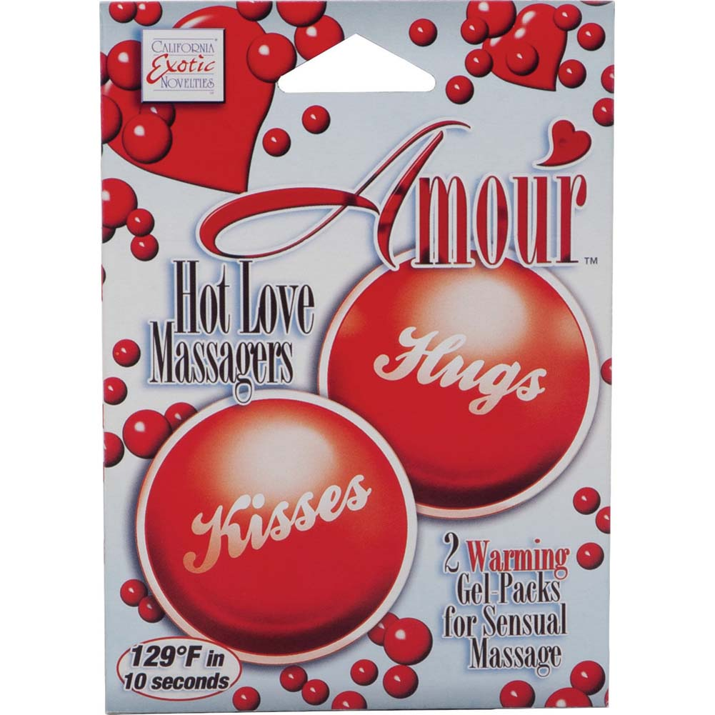 Amour Hot Love Massagers Red - View #2