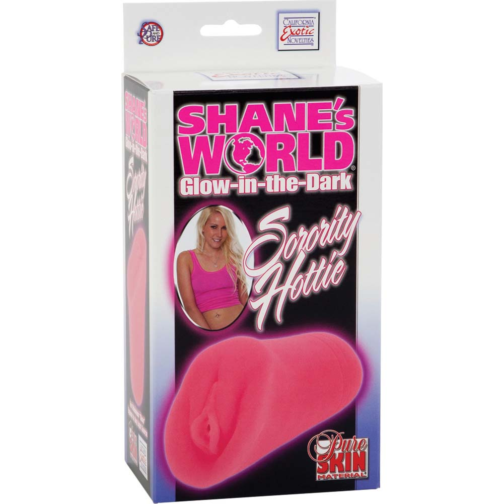 ShaneS World Glow in the Dark Sorority Hottie Stroker Pink - View #1