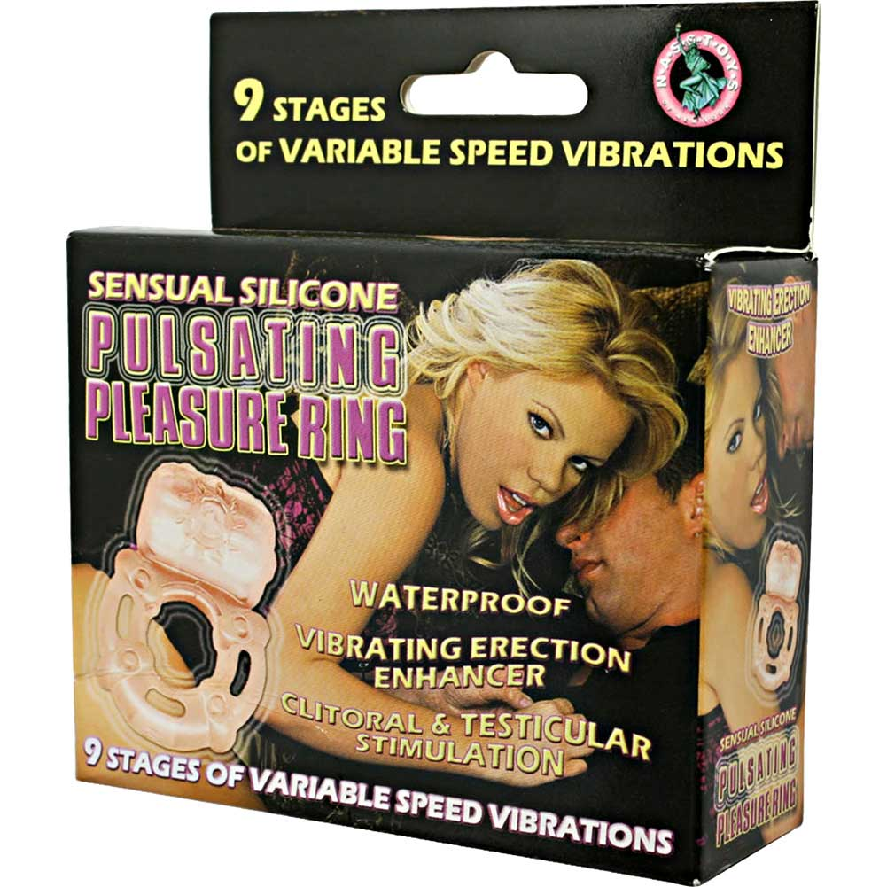 Pulsating Pleasure Silicone Ring Flesh - View #1