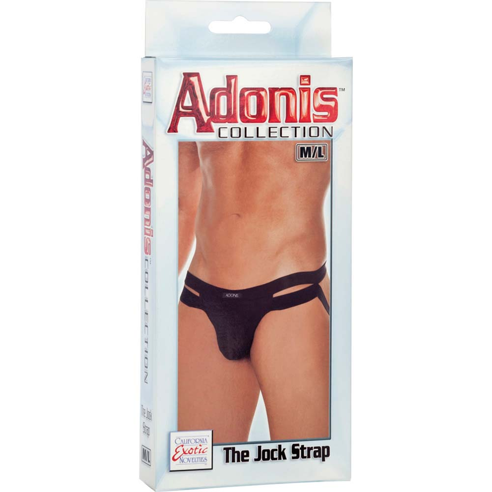 Adonis Collection Jock Strap Medium/Large Black - View #3