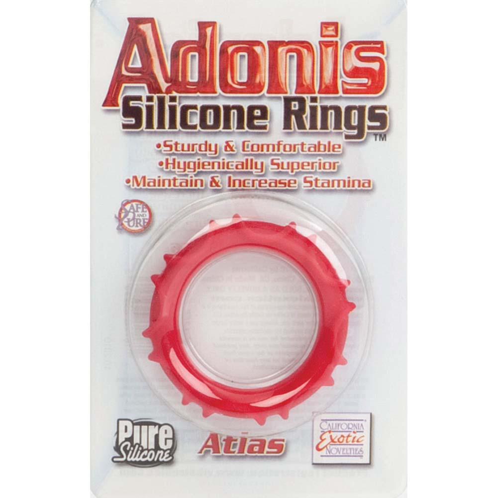 Adonis Silicone Ring Atlas Red - View #1
