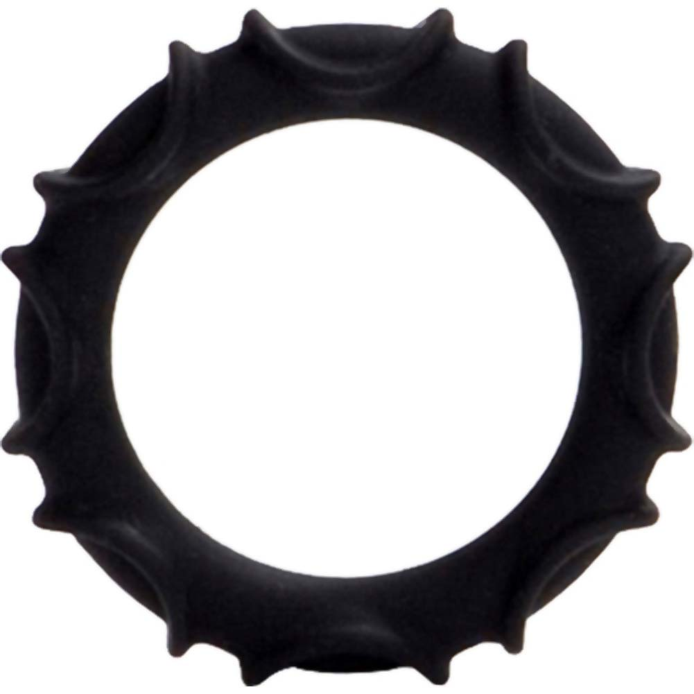 Adonis Silicone Ring Atlas Black - View #2