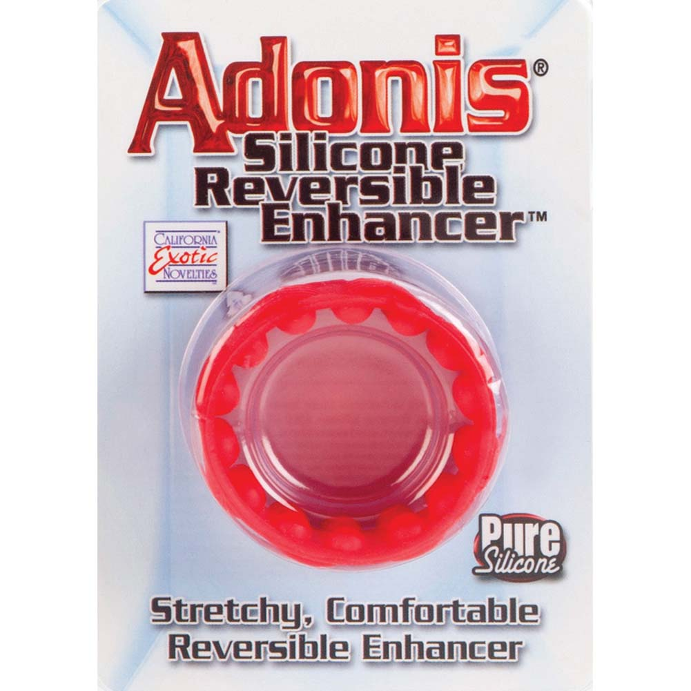 Adonis Silicone Reversible Enhancer Red - View #1