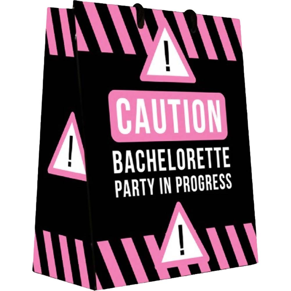 Caution Bachelorette Party In Progress Gift Bag - View #1