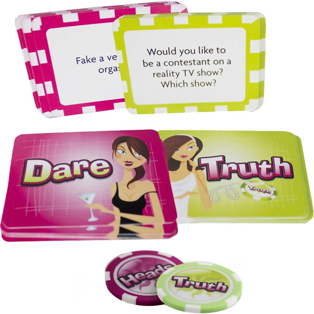 Flip/Sip Truth or Dare Card Game - View #2