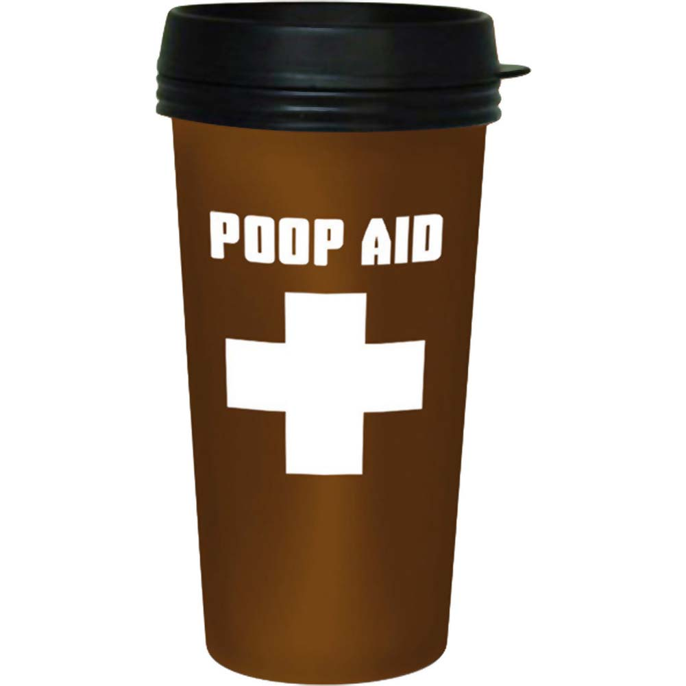 Poop Aid Travel Mug - View #1