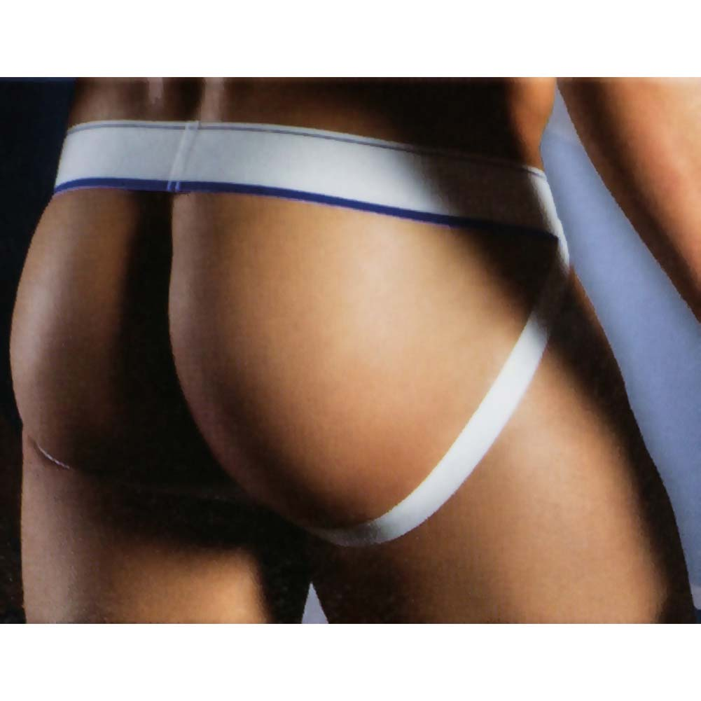 California Exotics Apollo Mesh Jock with C-Ring Blue Large/Extra Large.Size - View #2