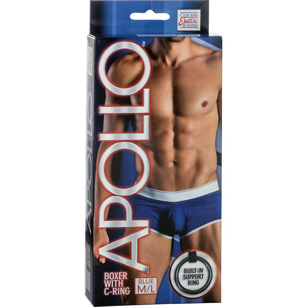 Apollo Boxer with C-Ring Blue Medium/Large Size - View #1