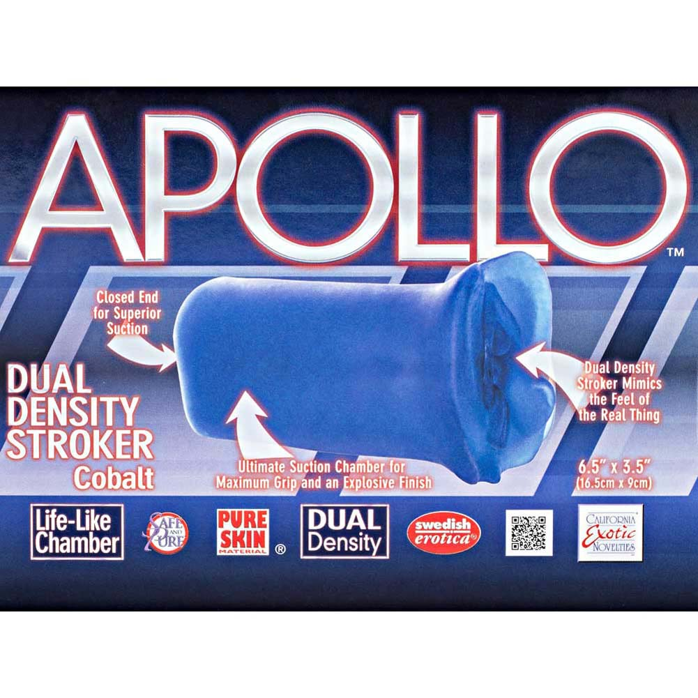 Apollo Dual Density Stroker Blue - View #1