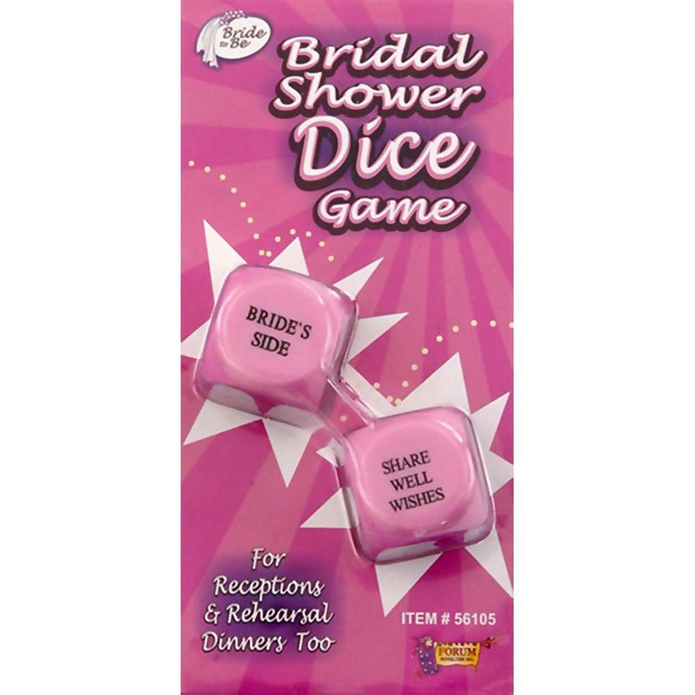 Bridal Showers Dice Game - View #1