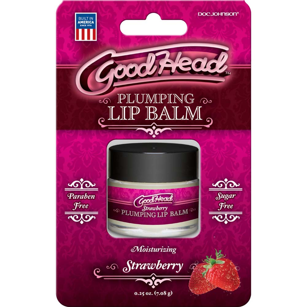 GoodHead Plumping Lip Balm Strawberry 0.25 Oz. - View #1