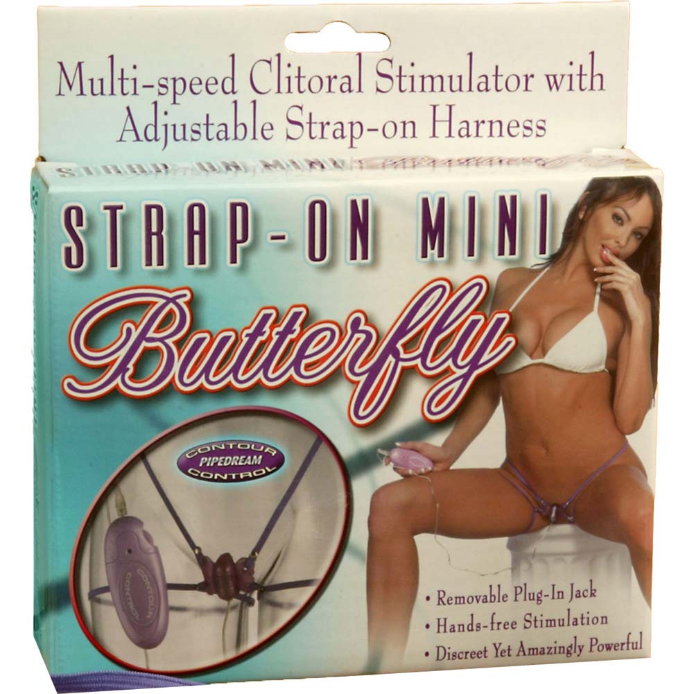 Strap-On Mini Butterfly - View #1
