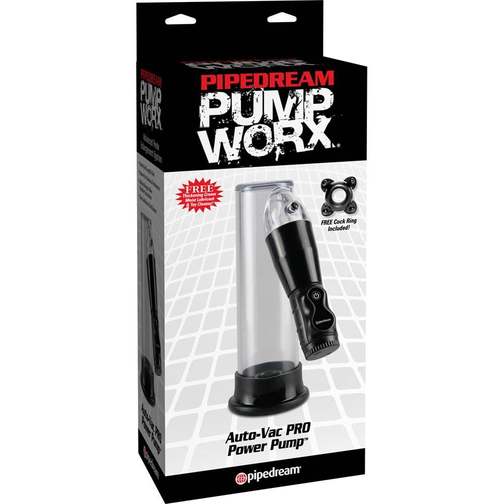Pump Worx Auto-VAC Pro Power Pump Black - View #1