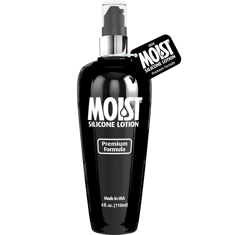 Silicone Moist Personal Lubricant 4 Fl. Oz. - View #1