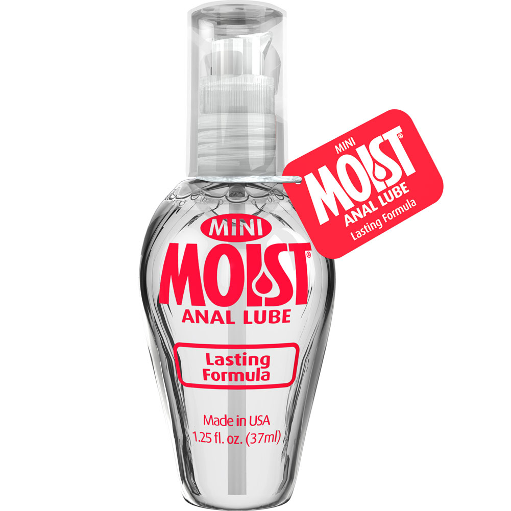 Mini Moist Anal Personal Lubricant 1.25 Fl. Oz. - View #1