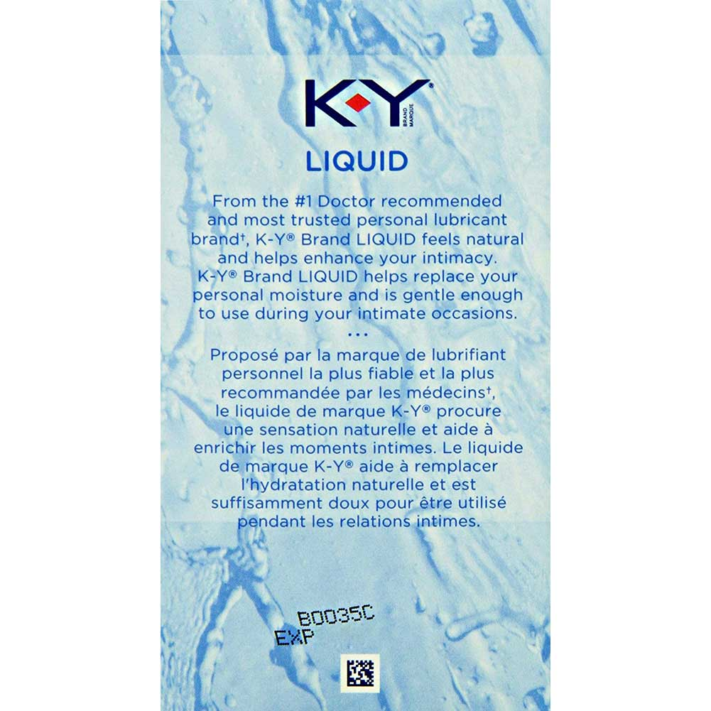 K-Y Brand Natural Feeling Liquid Personal Lubricant 2.5 Ounce 71 G - View #3