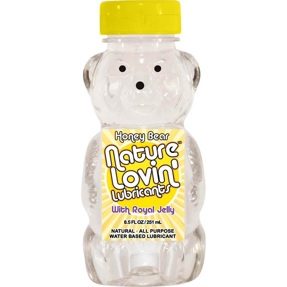 Nature Lovin Lubricants Honey Bear Lube with Royal Jelly 8.5 Fl. Oz. - View #1