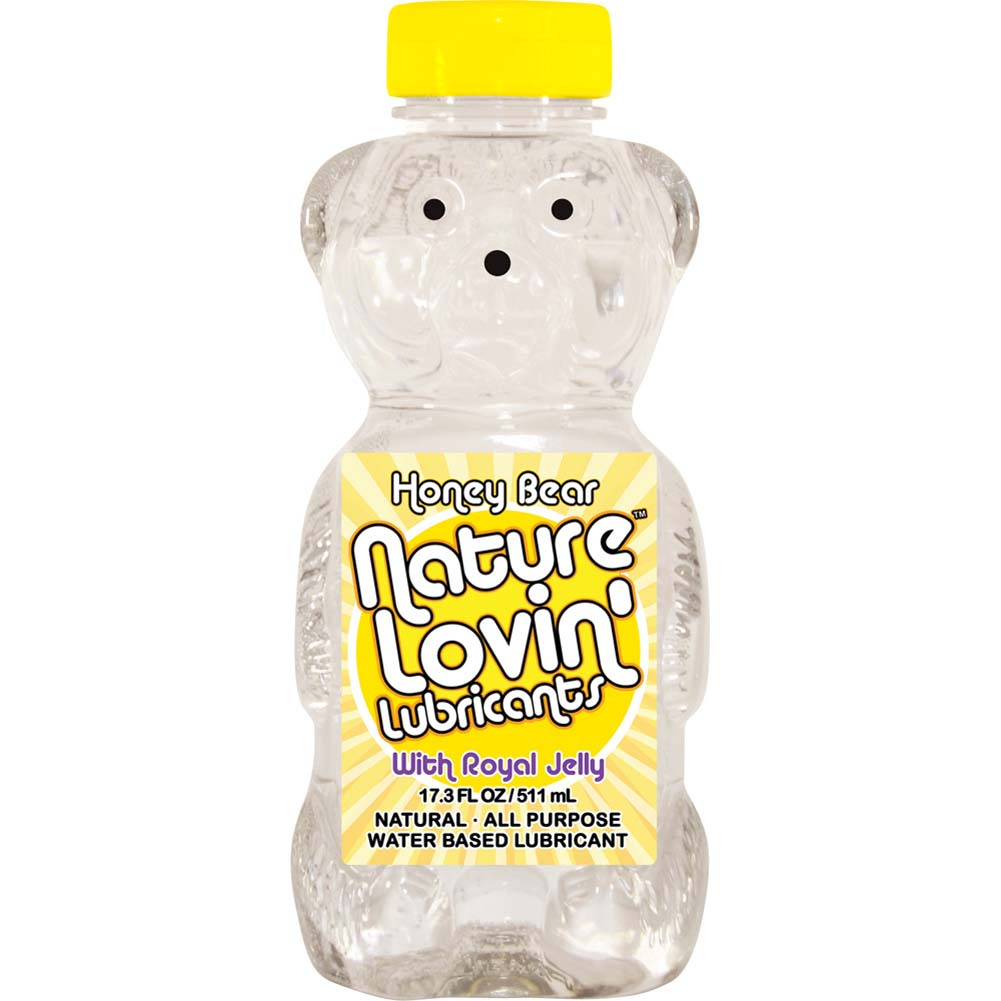 Nature Lovin Lubricants Honey Bear Lube with Royal Jelly 17.3 Fl. Oz. - View #1