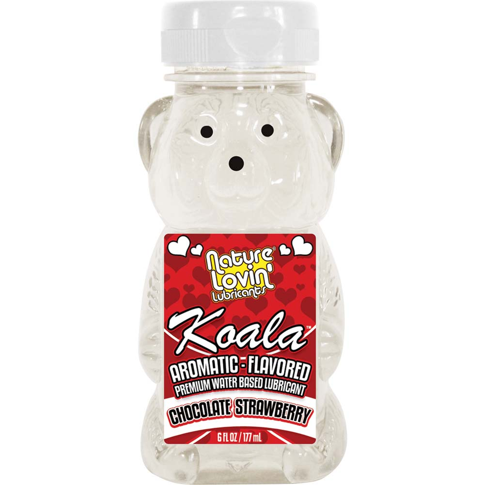 Nature Lovin Lubricants Koala Chocolate Strawberry Flavored Lube 6 Fl. Oz. - View #1