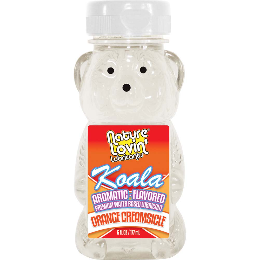 Nature Lovin Lubricants Koala Orange Creamsicle Flavored Lube 6 Fl. Oz. - View #1