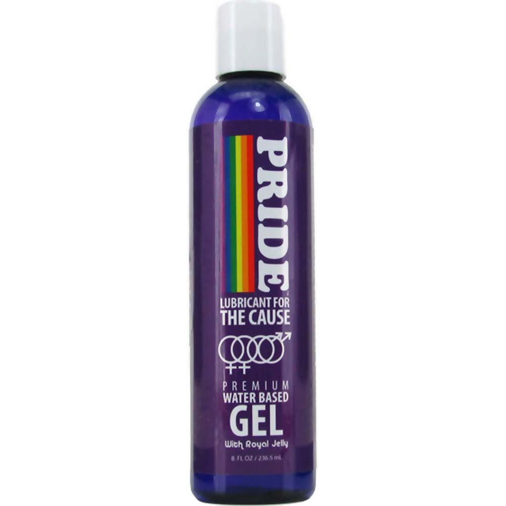 Pride Lubricant for the Cause Water Based Gel 8 Fl. Oz. - View #1