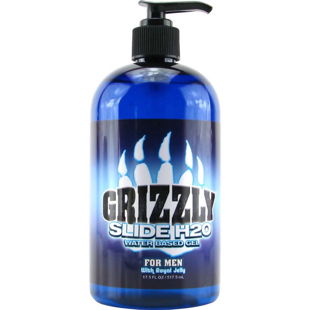 Nature Lovin Lubricants Grizzly Slide H2O Water Based Gel for Men 17.5 Fl.Oz. - View #1