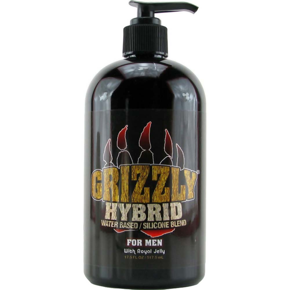 Nature Lovin Lubricants Grizzly Hybrid Lube for Men 17.5 Fl. Oz. - View #1