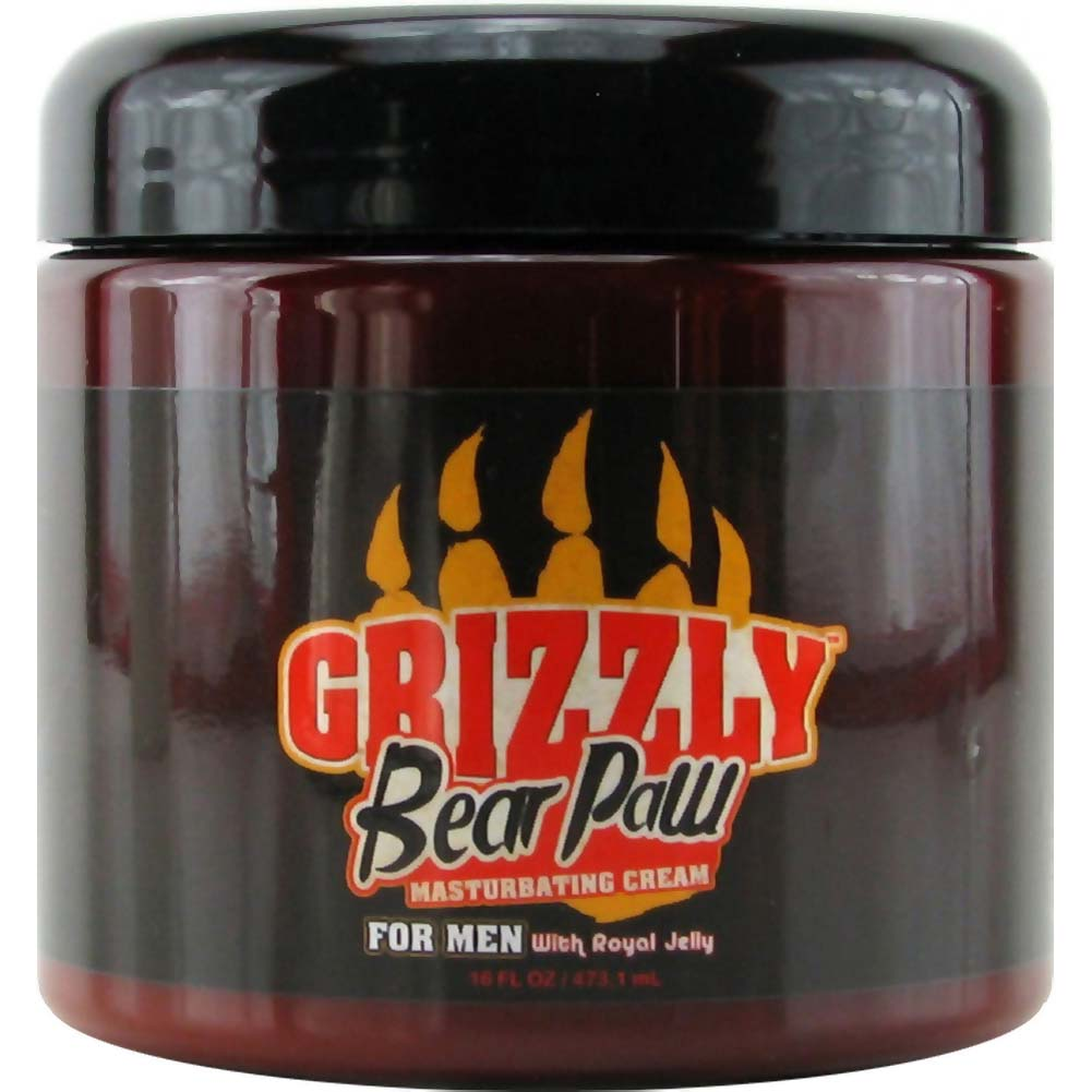 Nature Lovin Lubricants Grizzly Bear Masturbating Cream 17.5 Fl. Oz. - View #1