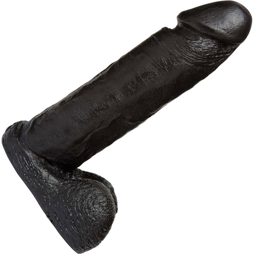"Vac-U-Lock CodeBlack 8"" Realistic Cock Black - View #2"