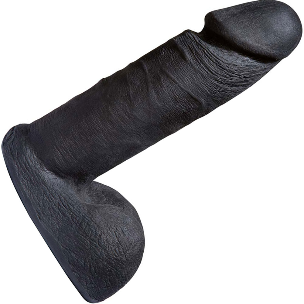 "Vac-U-Lock CodeBlack 6"" UR3 Cock Black - View #2"